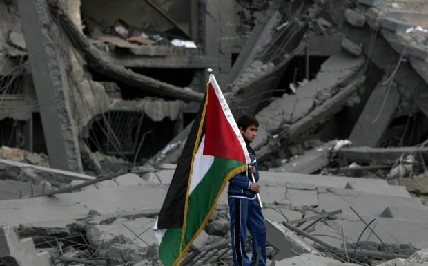 PALESTINIAN-ISRAELI-CONFLICT-GAZA-STADIUM